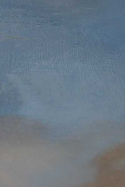 section of oil painting